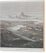 France: Dieppe, 1822 Wood Print