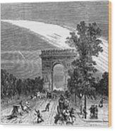 France: Meteor, 1868 Wood Print