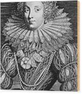 France: Noblewoman Wood Print