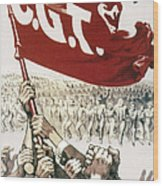 France: Popular Front, 1936 Wood Print
