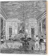 France: Royal Visit, 1855 Wood Print