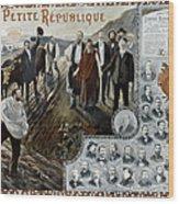 France: Socialism, 1900 Wood Print