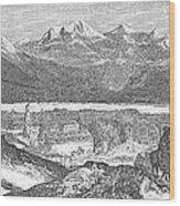 France: Spa, 1856 Wood Print