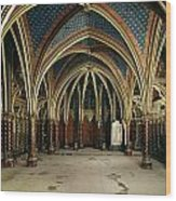 France: Ste. Chapelle Wood Print