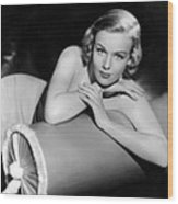 Frances Farmer, Paramount Pictures Wood Print