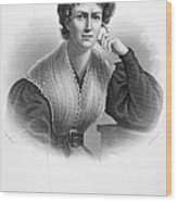 Frances Wright (1795-1852) Wood Print by Granger