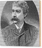 Francis Brett Harte Wood Print