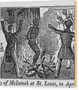 Francis L. Mcintosh, A Free Mulatto Wood Print by Everett