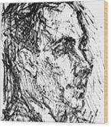 Francis Ponge (1899-1988) Wood Print