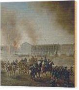 Franco-prussian War, 1870 Wood Print