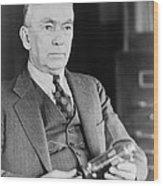 Frank Conrad 1874-1941, Radio Pioneer Wood Print by Everett