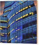 Frank Gehrys Iac Building Wood Print