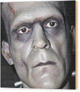 Frankensteins Monster Wood Print