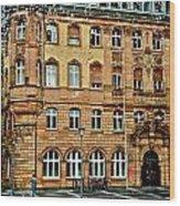 Frankfurt On A Rainy Day Wood Print