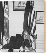 Franklin D. Roosevelt, 32nd American Wood Print