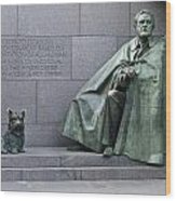Franklin Delano Roosevelt Memorial - Washington Dc Wood Print by Brendan Reals