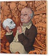 Franz Josef Gall, German Physiognomist Wood Print