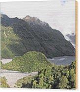 Franz Josef Glacier Nz Wood Print