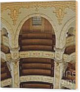 Frauenkirche Interior Wood Print
