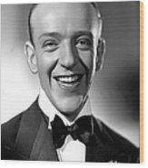 Fred Astaire, 1935 Wood Print by Everett