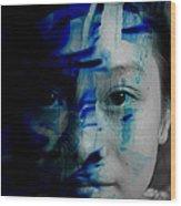 Free Spirited Creativity Wood Print