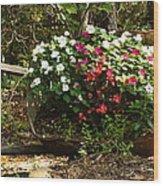 Free To Bloom Wood Print