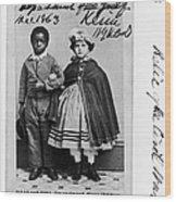 Freedmen School, 1863 Wood Print by Granger