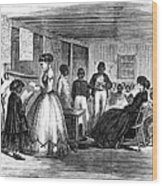 Freedmen School, 1866 Wood Print by Granger