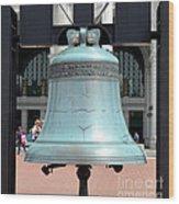 Freedom Bell Wood Print