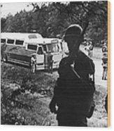 Freedom Riders, 1961 Wood Print