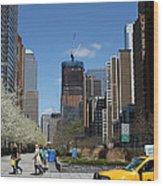 Freedom Tower 3 Wood Print