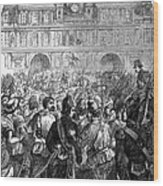 French Revolution, 1794 Wood Print