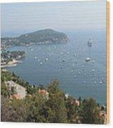 French Riviera Wood Print