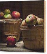Fresh From The Orchard IIi Wood Print by Tom Mc Nemar