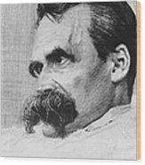Friedrich Wilhelm Nietzsche, German Wood Print by Photo Researchers