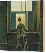 Friedrich Woman 1822 Wood Print