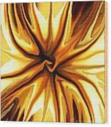 Friendship Wood Print by Chris Butler
