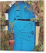 Friendship Door Wood Print