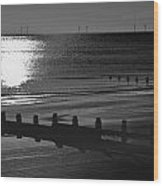 Frinton-on-sea Wood Print by Darren Burroughs