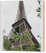 From Paris With Love Wood Print