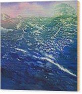 From Sea To Shining Sea Wood Print