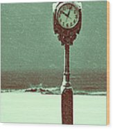 Frozen In Time Wood Print