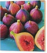 Fruit - Jersey Figs - Harvest Wood Print