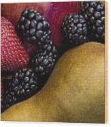 Fruit 2 Wood Print