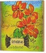 Fruits Of The Spirit Wood Print