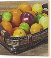 fruits with vitamin C Wood Print