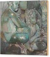 Fuente Girondins-Detalle Wood Print