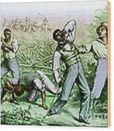 Fugitive Slave Law Wood Print