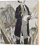 Fukuchi Genichiro Wood Print