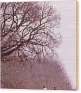 Full Cry Hunt Ll Wood Print